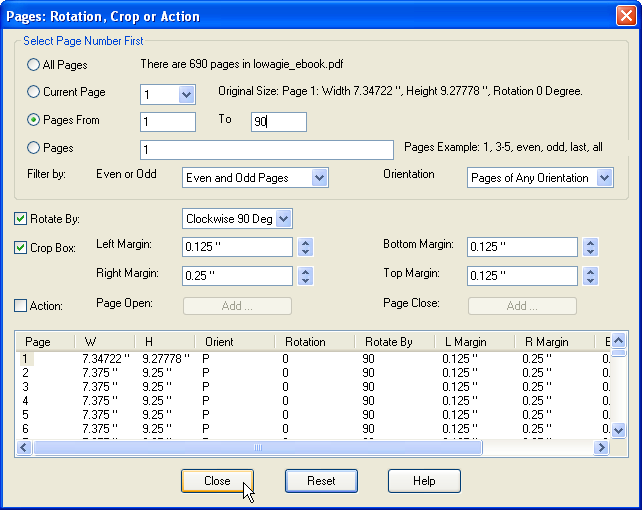 how to add a pdf page to a pdf document