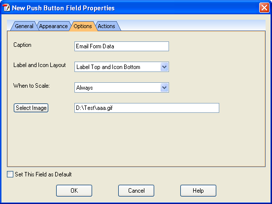 how to create a form field in pdf